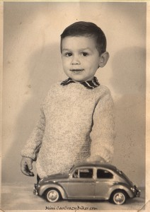 My fascination for cars started a long time ago!