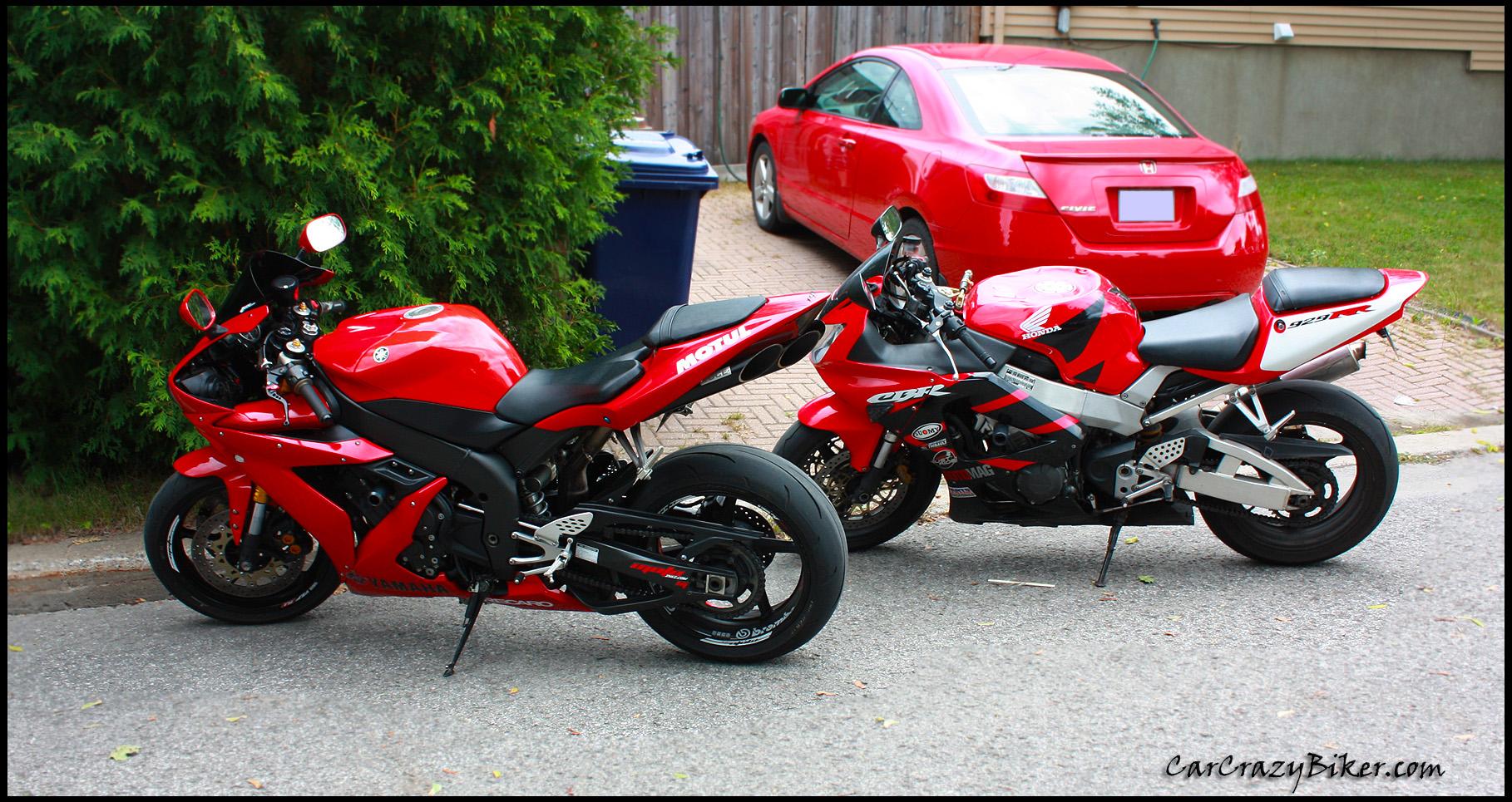 Honda CBR, Yamaha YZF R1